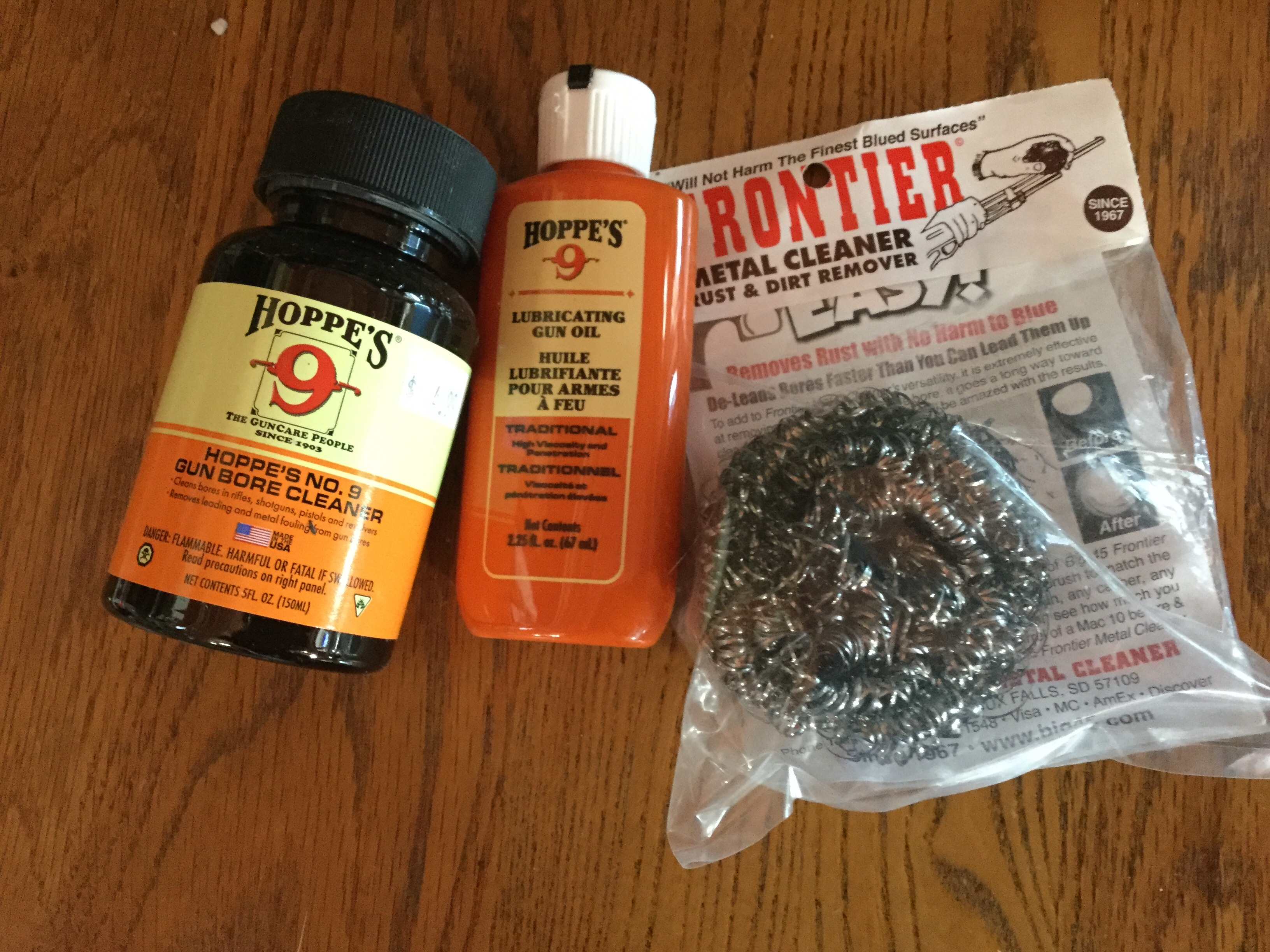 Great Christmas Stocking Stuffers- Hoppe's No  9 gun cleaner